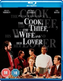 Cook, the Thief, His Wife and Her Lover, Blu-ray BluRay