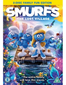 Smurfs - The Lost Village: Family Fun Edition, DVD DVD