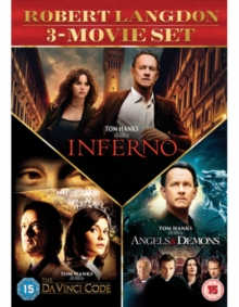 The Da Vinci Code/Angels and Demons/Inferno, DVD DVD