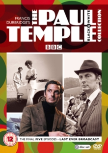 Paul Temple: The Black and White Collection, DVD  DVD