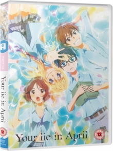 Your Lie in April: Part 1, DVD DVD