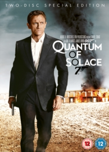 Quantum of Solace, DVD  DVD