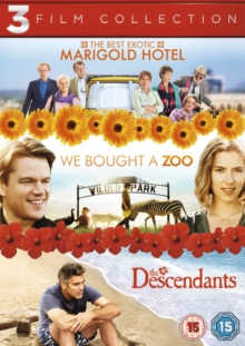 The Best Exotic Marigold Hotel/We Bought a Zoo/The Descendants, DVD DVD