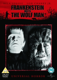 Frankenstein Meets the Wolf Man, DVD  DVD