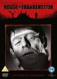 House of Frankenstein, DVD  DVD