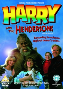 Harry and the Hendersons, DVD  DVD