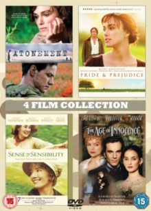 Atonement/The Age of Innocence/Pride and Prejudice/..., DVD  DVD