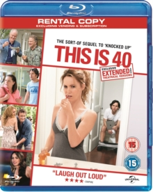 This Is 40, Blu-ray  BluRay
