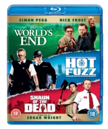 The World's End/Hot Fuzz/Shaun of the Dead, Blu-ray BluRay