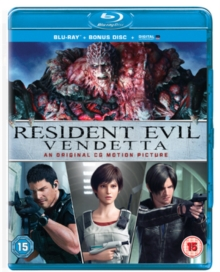 Resident Evil: Vendetta, Blu-ray BluRay