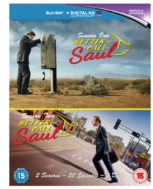Better Call Saul: Season 1 & 2, Blu-ray BluRay