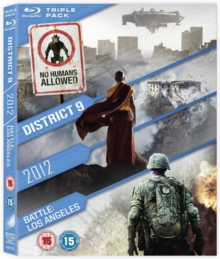 2012/Battle: Los Angeles/District 9, Blu-ray  BluRay