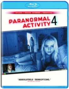 Paranormal Activity 4: Extended Edition, Blu-ray  BluRay