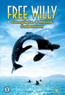 Free Willy 1-4, DVD  DVD
