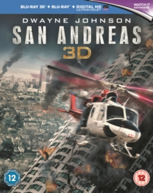 San Andreas, Blu-ray  BluRay