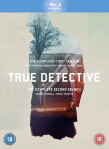 True Detective: The Complete First and Second Season, Blu-ray BluRay