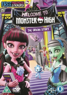 Monster High: Welcome to Monster High, DVD DVD