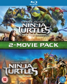 Teenage Mutant Ninja Turtles: 2-Movie Pack, Blu-ray BluRay