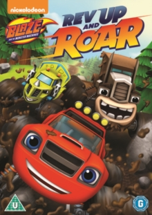 Blaze and the Monster Machines: Rev Up and Roar, DVD DVD