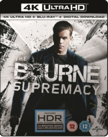 The Bourne Supremacy, Blu-ray BluRay