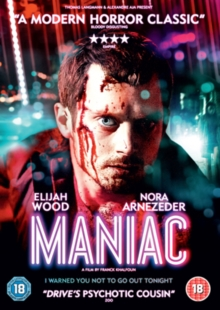 Maniac, Blu-ray  BluRay