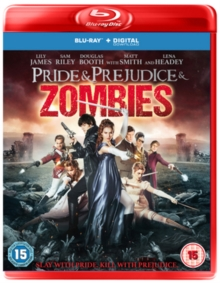 Pride and Prejudice and Zombies, Blu-ray BluRay