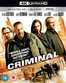 Criminal, Blu-ray BluRay