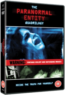 Paranormal Entity 1-4, DVD  DVD