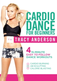 Tracy Anderson: Cardio Dance for Beginners, DVD  DVD