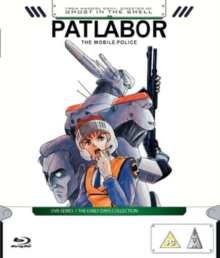 Patlabor - The Mobile Police: OVA Series 1 - The Early Days, Blu-ray  BluRay