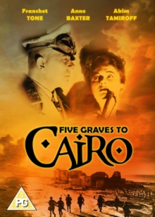Five Graves to Cairo, DVD  DVD