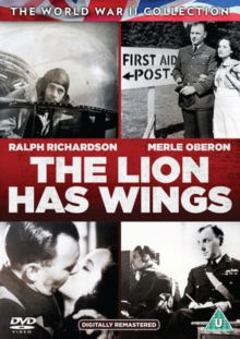 The Lion Has Wings, DVD DVD