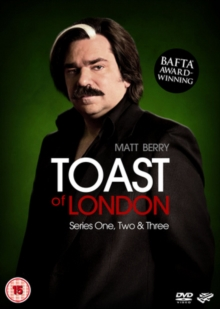 Toast of London: Series 1-3, DVD  DVD