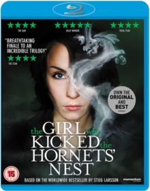 The Girl Who Kicked the Hornet's Nest, Blu-ray BluRay