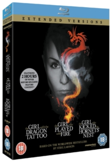 The Girl... Trilogy - Extended Versions, Blu-ray BluRay