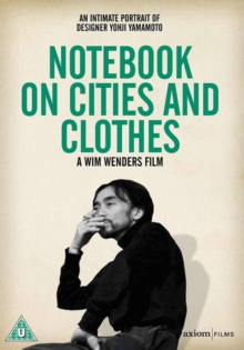 Notebooks On Cities and Clothes, DVD  DVD