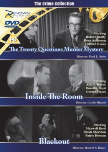 The Crime Collection, DVD DVD