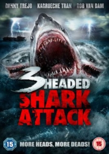 3-headed Shark Attack, DVD DVD