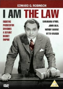 I Am the Law, DVD  DVD