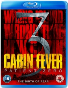 Cabin Fever 3 - Patient Zero, Blu-ray  BluRay
