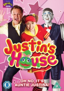 Justin's House: Oh No, It's Auntie Justina, DVD DVD