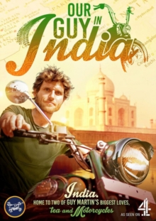 Guy Martin: Our Guy in India, DVD DVD