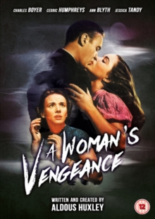 Woman's Vengeance, DVD DVD