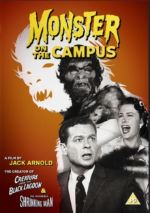 Monster On the Campus, DVD DVD