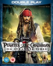 Pirates of the Caribbean: On Stranger Tides, Blu-ray  BluRay