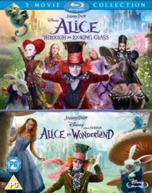 Alice in Wonderland/Alice Through the Looking Glass, Blu-ray BluRay