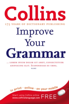 Collins Improve Your Grammar, Paperback Book