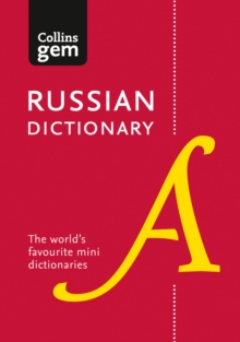 Collins Gem Russian Dictionary, Paperback Book