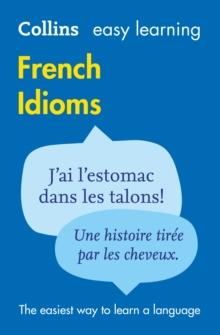 Easy Learning French Idioms, Paperback Book