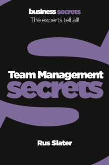 Team Management, Paperback Book